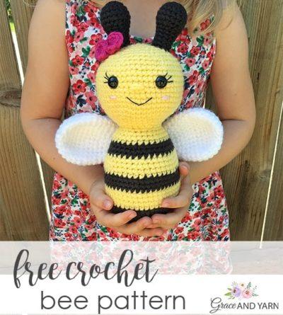 Free Crochet Pattern Bee