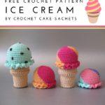 Free Crochet Pattern Ice Cream