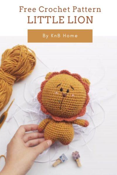 Free Crochet Pattern Little Lion