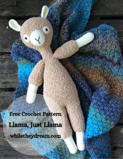 Free Crochet Pattern Llama Just Llama