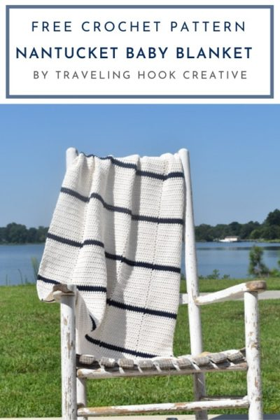 Free Crochet Pattern Nantucket Baby Blanket