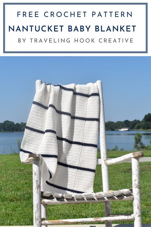 Free Crochet Pattern Nantucket Baby Blanket