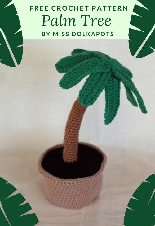 Free Crochet Pattern Palm Tree