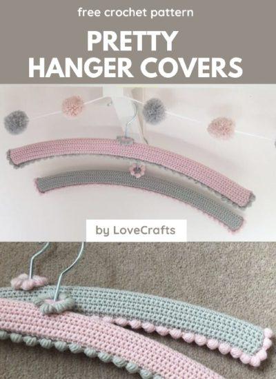 Free Crochet Pattern Pretty Hanger Covers
