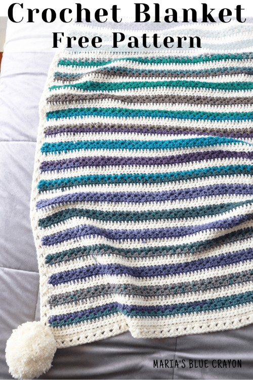 Free Crochet Pattern Star Stitch Blanket