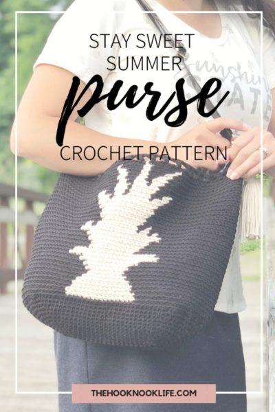 Free Crochet Pattern Stay Sweet Summer Purse