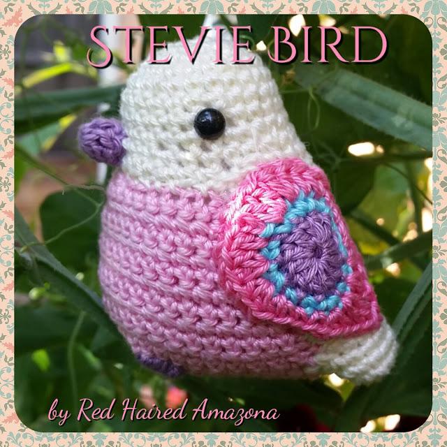 Free Crochet Pattern Stevie Bird