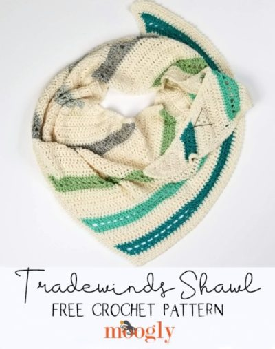 Free Crochet Pattern Tradewinds Shawl