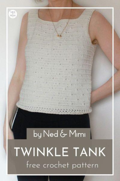 Free Crochet Pattern Twinkle Tank