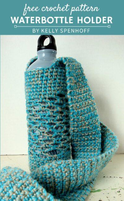 Free Crochet Pattern Waterbottle Holder