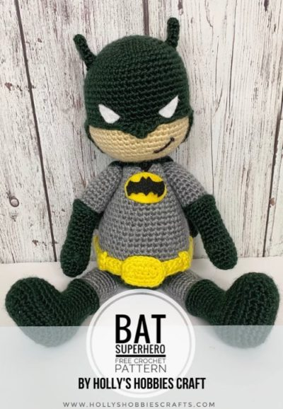 The Friendly Superhero-A Free Crochet Pattern - thefriendlyredfox.com | 578x400