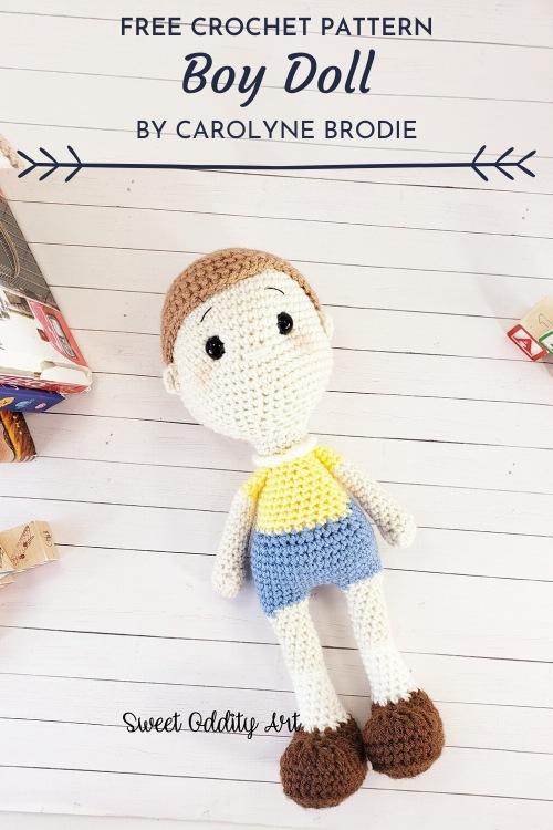 Free Crochet Pattern Boy Doll