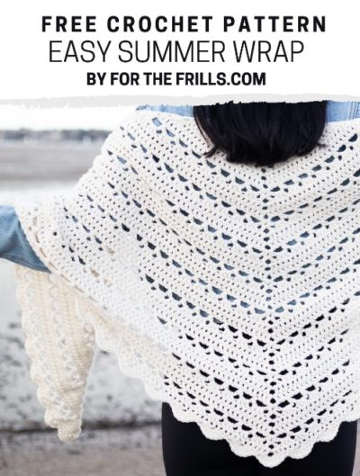 Free Crochet Pattern Easy Summer Wrap