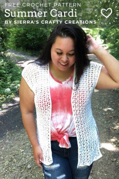 Free Crochet Pattern Summer Cardi