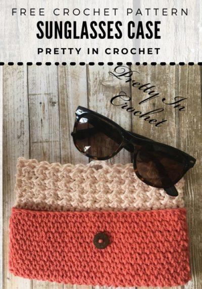 Free Crochet Pattern Sunglasses Case