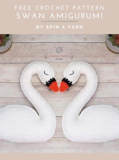 Free Crochet Pattern Swan Amigurumi