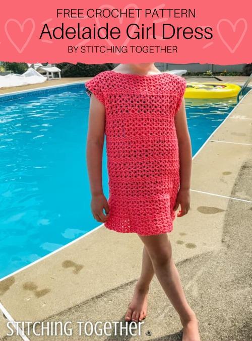 Free Crochet Pattern Adelaide Girl Dress