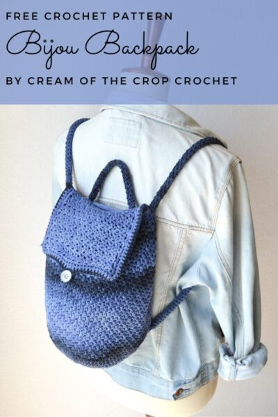 Free Crochet Pattern Bijou Backpack