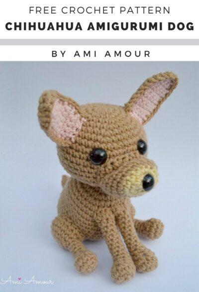 Free Crochet Pattern Chihuahua Amigurumi Dog