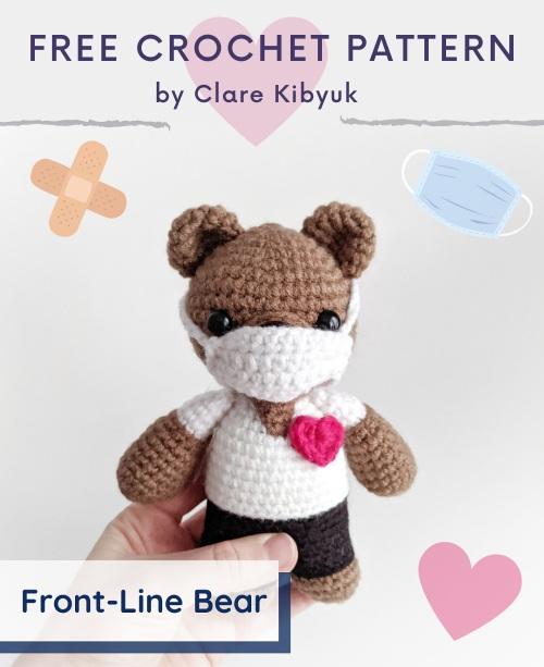 Free Crochet Pattern Front-Line Bear