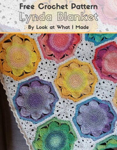 Free Crochet Pattern Lynda Blanket