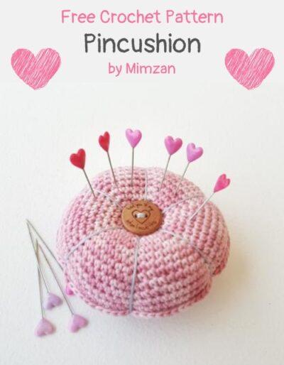 Free Crochet Pattern Pincushion