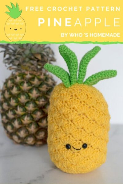 Free Crochet Pattern Pineapple