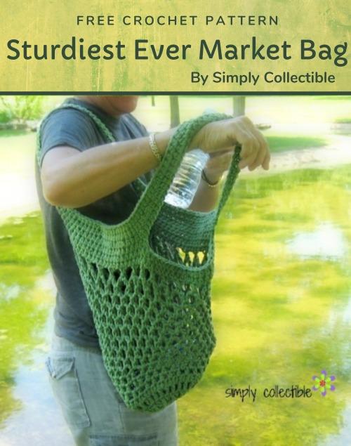 Free Crochet Pattern Sturdiest Ever Market Bag