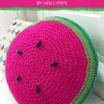 Free Crochet Pattern Watermelon Pillow