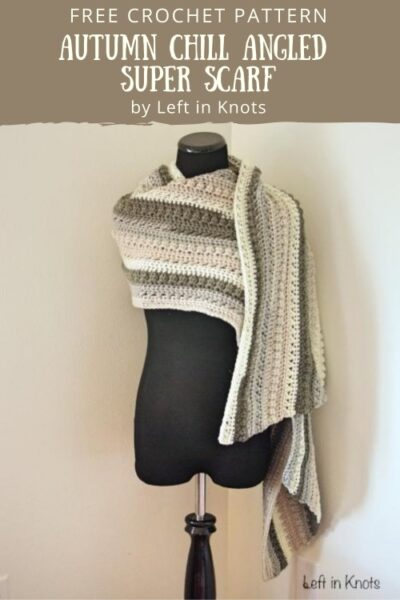 Free Crochet Pattern Autumn Super Scarf