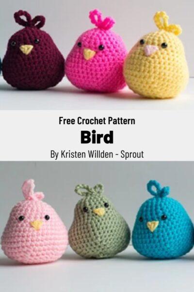 Free Crochet Pattern Bird