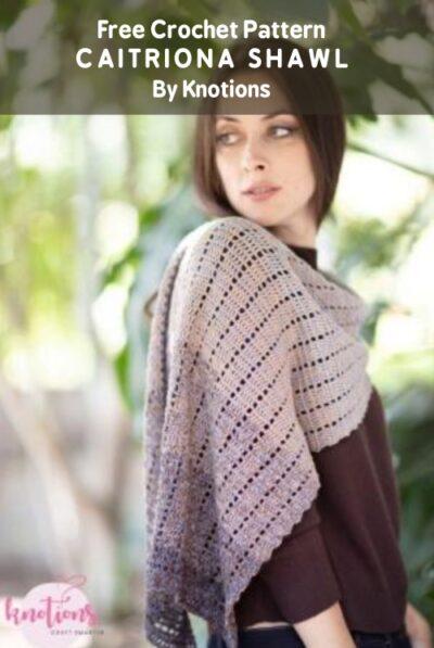 Free Crochet Pattern Caitriona Shawl