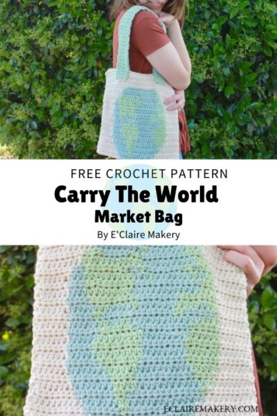 Free Crochet Pattern Carry The World Market Bag