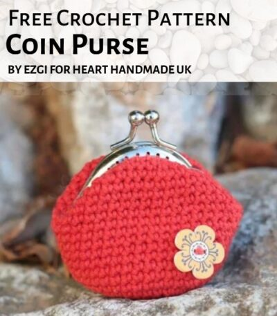 Free Crochet Pattern Coin Purse