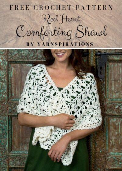 Free Crochet Pattern Comforting Shawl