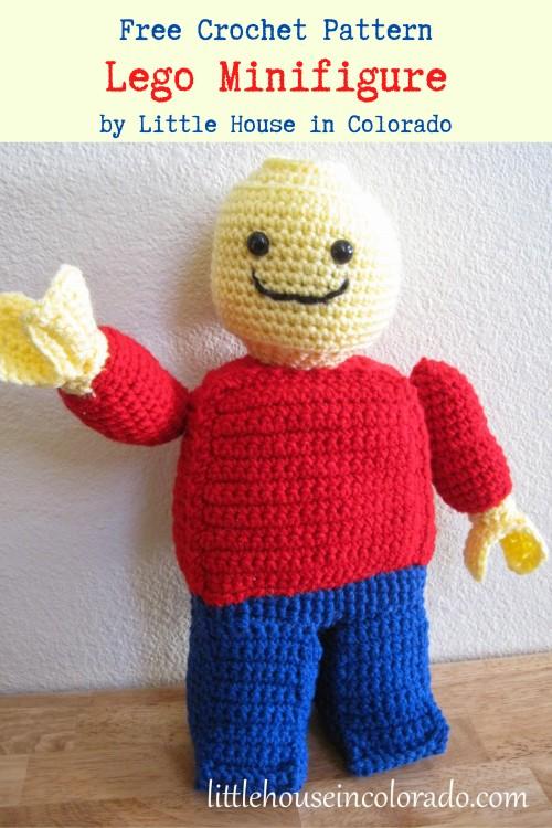 Free Crochet Pattern Lego Minifigure