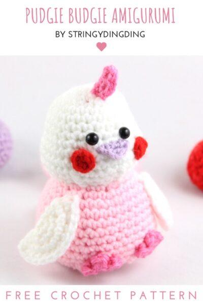 Free Crochet Pattern Pudgie Budgie Amigurumi