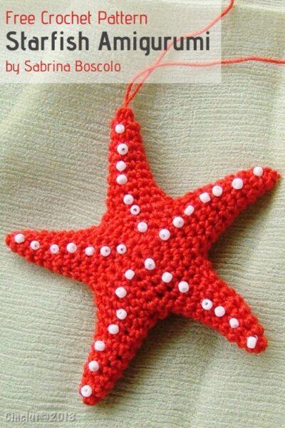 Free Crochet Pattern Starfish Amigurumi