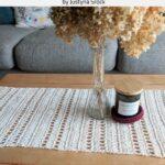 Free Crochet Pattern Table Runner