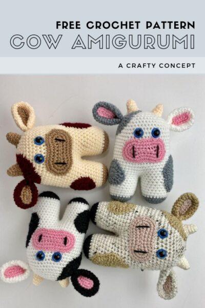 Free Crochet Pattern Cow Amigurumi