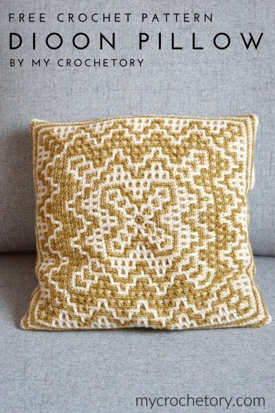 Free Crochet Pattern Dioon Pillow