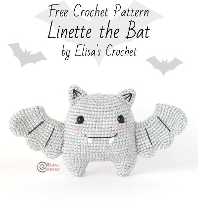 Free Crochet Pattern Linette the Bat