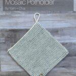Free Crochet Pattern Mosaic Potholder