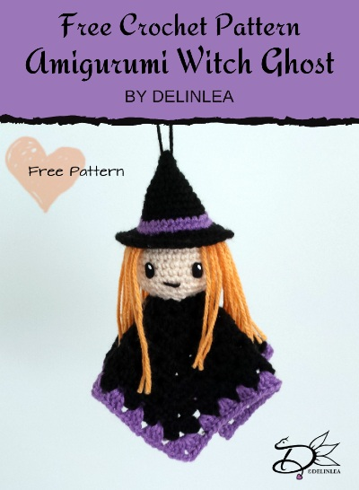 Free Crochet Pattern Amigurumi Witch