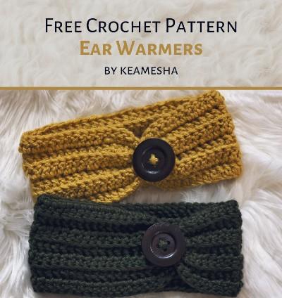 Free Crochet Pattern Ear Warmers