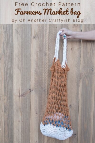 Free Crochet Pattern Farmers Market Bag