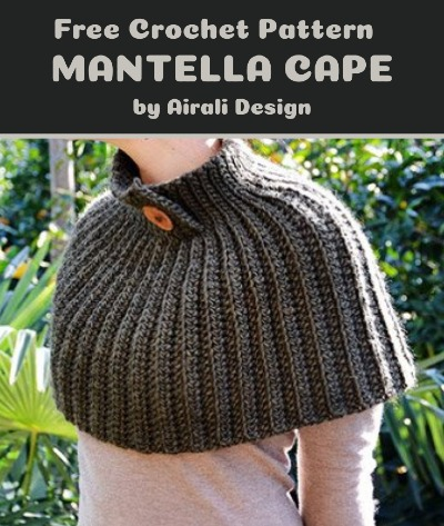 Free Crochet Pattern Mantella Cape
