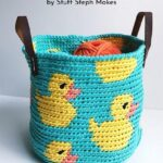 Free Crochet Pattern Rubber Ducky Basket