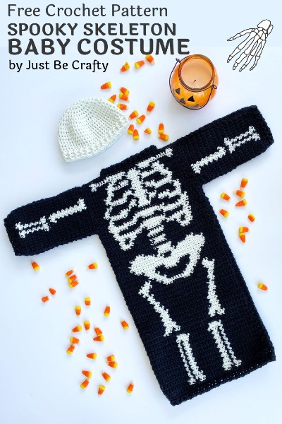 Free Crochet Pattern Skeleton Costume