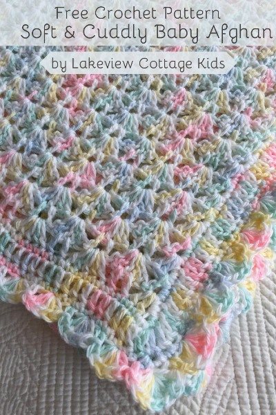 Free Crochet Pattern Soft & Cuddly Baby Afghan